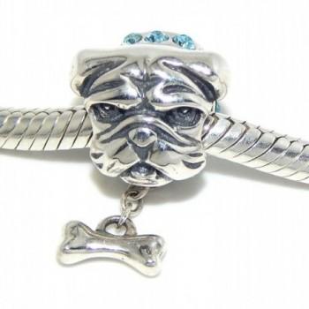 Pro Jewelry Sterling Bulldog Dangling