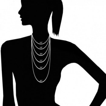Sterling Silver Singapore Necklace Lightweight in Women's Chain Necklaces