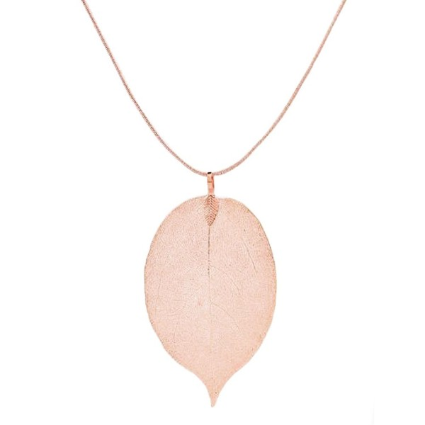 Necklace Pendants Collarbone Delicate Minimalist - Rose Gold - CN186KGN9A2