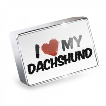 Floating Charm Dachshund- Dog Breed Germany Fits Glass Lockets- Neonblond - I Love my Dachshund Dog from Germany - CQ11Q3V1YVL