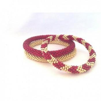 Galvanised Handmade Crocheted Bracelets Japanese in Women's Bangle Bracelets