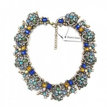 Charm L Grace Jewelry Necklace Earrings