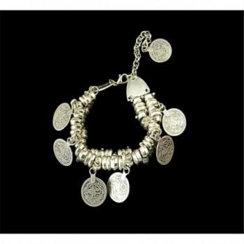 SUNSCSC Silver Bracelet Bohemian Jewelry