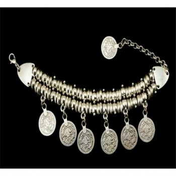 SUNSCSC Silver Bracelet Bohemian Jewelry in Women's Bangle Bracelets
