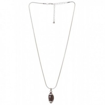 Artisan Owl Football Necklace Earrings
