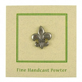 Fleur Lis Lapel Pin Count in Women's Brooches & Pins