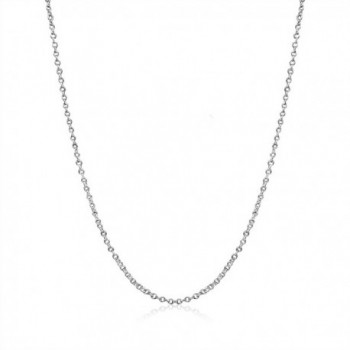 Sterling Silver 1 5mm Cable Necklace