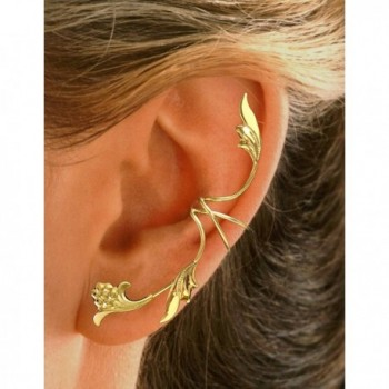 Ear Charms Non Pierced Flower Earring