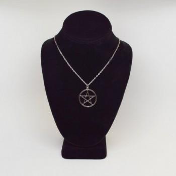 Pentacle Polished Medieval Renaissance Necklace