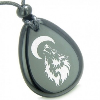 Amulet Protection Howling Pendant Necklace in Women's Pendants