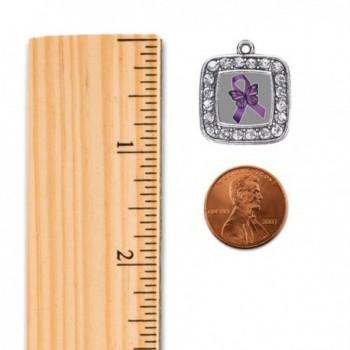Fibromyalgia Awareness Classic Silver Bracelet