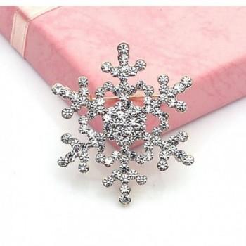 Welcomeuni Fashion Crystal Rhinestone Snowflake