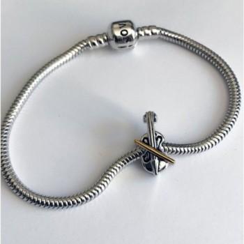 Jovana Sterling Silver yellow European Bracelet