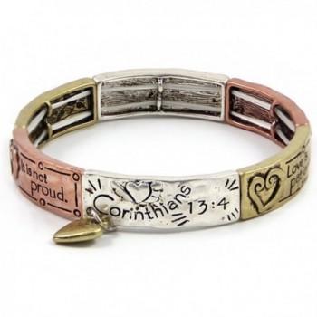 4030084a 1 Corinthians 13 Stretch Bracelet Christian Scripture Religious - CX11HSLHVOT