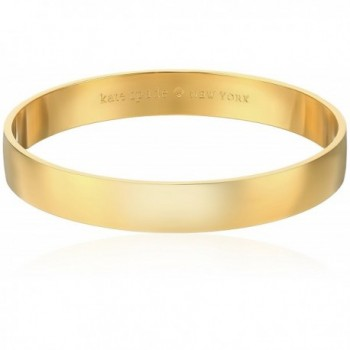 Kate Spade New York Womens Idiom Bangles Solid Gold Gold One Size - CE11516S8LD