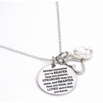 Awareness Necklace Birthstone Graduation Encouragement