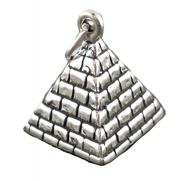 Corinna-Maria 925 Sterling Silver Pyramid Charm - CO11MQ1M76X