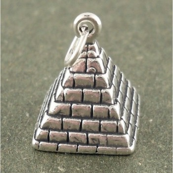 Corinna Maria Sterling Silver Pyramid Charm