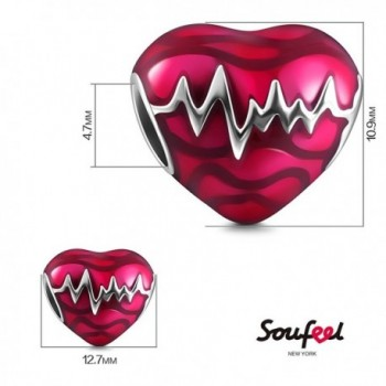 SOUFEEL Heartbeat Sterling European Memorable