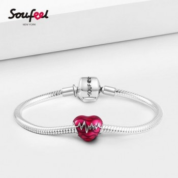 SOUFEEL Heartbeat Sterling European Memorable in Women's Charms & Charm Bracelets