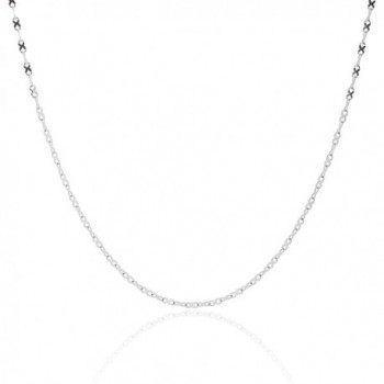 """316L Stainless Steel Infinity Ribbon Link Chain - 2MM - 16"""" - 36"""" - CM12G0KT2BX"""