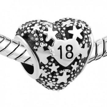 LovelyJewelry Birthday Charms Pentagram Bracelet