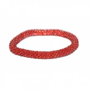 Crochet Glass Bracelet Nepal SB466