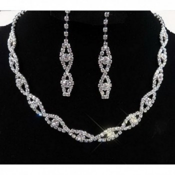 Taoqiao Two Sets Of Bridal Fashion Necklaces [Jewelry] - C611LYU2PAJ