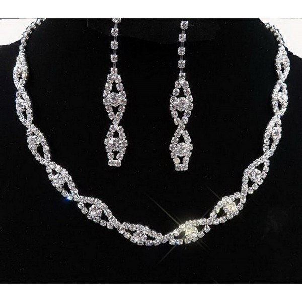 Taoqiao Two Sets Of Bridal Fashion Necklaces [Jewelry] - C611LYU2PAJ