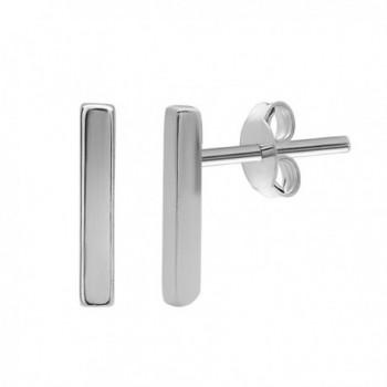 Beaux Bijoux Sterling Vertical Earrings