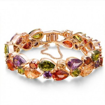 Fancydeli Rose Gold Plated Women Zircon Bracelet for Mother Women&iexcl&shy - CR11TIL6PXF