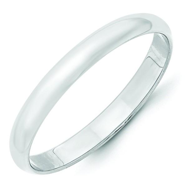 3mm .925 Sterling Silver Wedding Band Ring Men's Women's Also Thumb Ring - CV12CYL2HRN