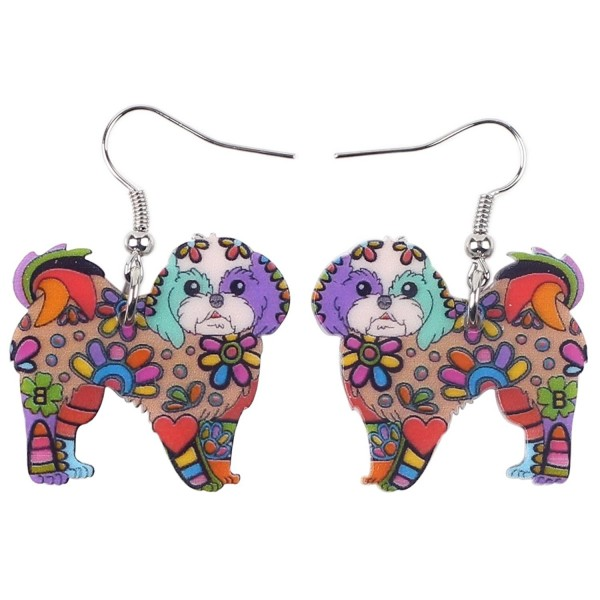 BONSNY Collection Yorkshire Earrings multicolor - multicolor - CT12O2QSZBH