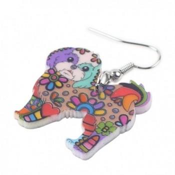 BONSNY Collection Yorkshire Earrings multicolor in Women's Drop & Dangle Earrings