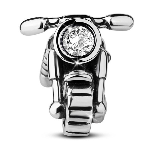 TINYSAND Valentines Hand crafted Motorcycle Bracelets - CG12EQ0805D