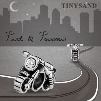 TINYSAND Valentines Hand crafted Motorcycle Bracelets