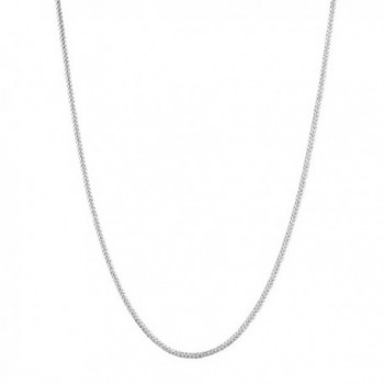 Sterling Silver Wheat Link Chain Adjustable 1.0 Mm Wide 16 to 22 Inches - CZ1107RYEMD