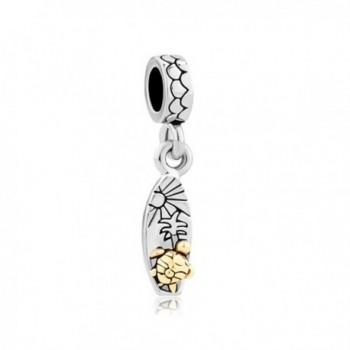 Q&Locket Sun Tree Turtle Charm Dangle Bead For Bracelet - CN17Z3HCZRD