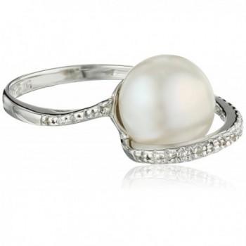Bella Pearl Designer Cubic Zirconia Ring- Size 6 - CJ119NKKAIB