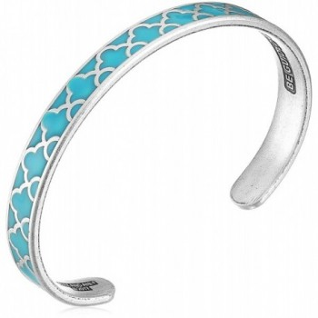 Alex and Ani Color Infusion Cuff Bracelet - Island Teal - CW17YSNL2U5