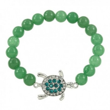 DianaL Boutique Bracelet Aventurine Gemstone - CM12IOCECAZ