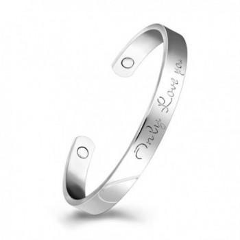 Platinum Bracelet Magnetic Therapy Bracelets