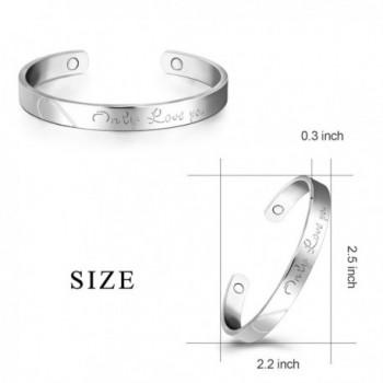 Platinum Bracelet Magnetic Therapy Bracelets in Women's Cuff Bracelets