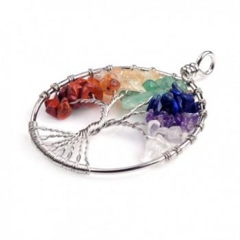 Keychian Natural Crystal Pendant Keyring