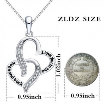 Valentines ZLDZ Necklace Jewelry Girlfriend in Women's Pendants