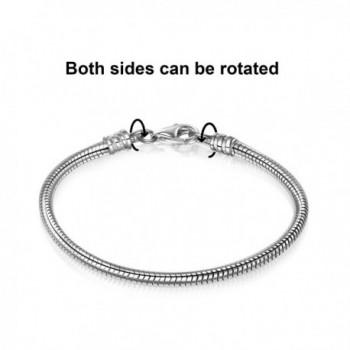 Sterling Silver Bracelet European Bracelets in Women's Charms & Charm Bracelets