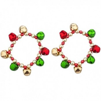 Lux Accessories Goldtone Christmas Bracelet