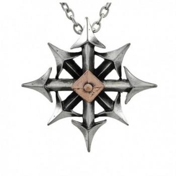 Chaostar Pendant by Alchemy Gothic- England - CM1126OO7OF