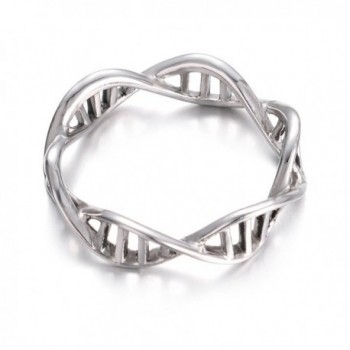 Yoursfs Infinity Chemistry Jewelry Encircle in Women's Band Rings