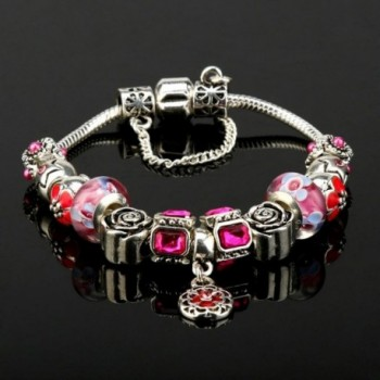 ARINLA Elegant Flowers Braclet Jewelry